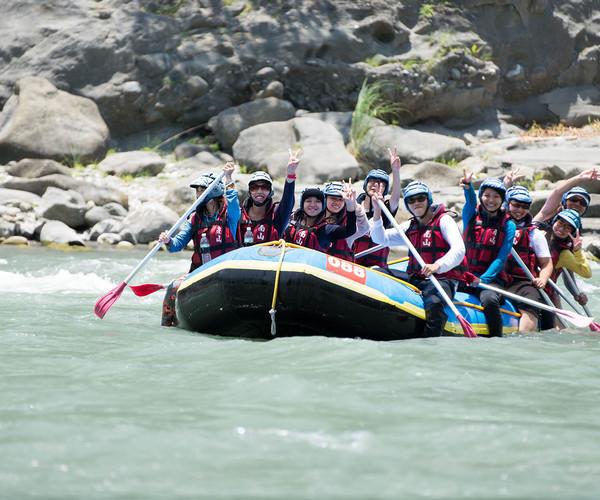 Hualien - River Rafting